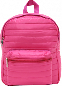 Cambridge Polo Club, Mini Parachute Backpack, Pink