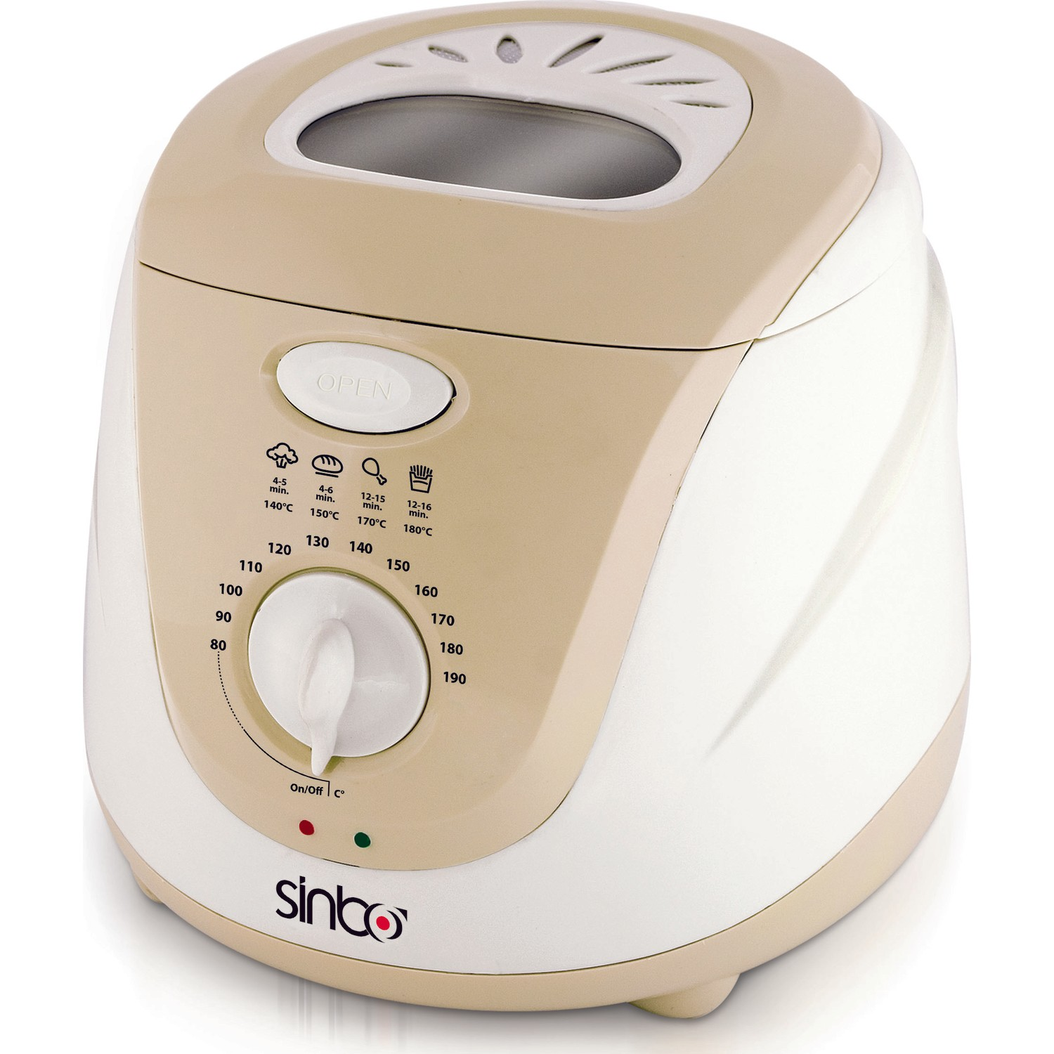 Sinbo SDF-3817 Deep Fryer 2 Lt With Removable Tank