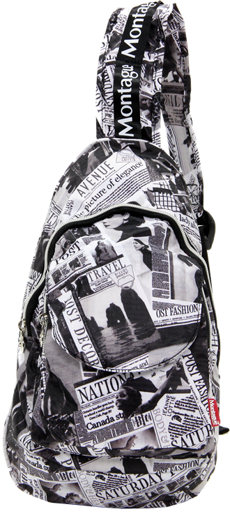 Montague Mbp-18, Foldable Cross Mini Backpack, Marten
