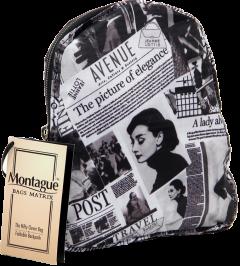 Montague Mbp-18, Foldable Cross Mini Backpack, Marten-2