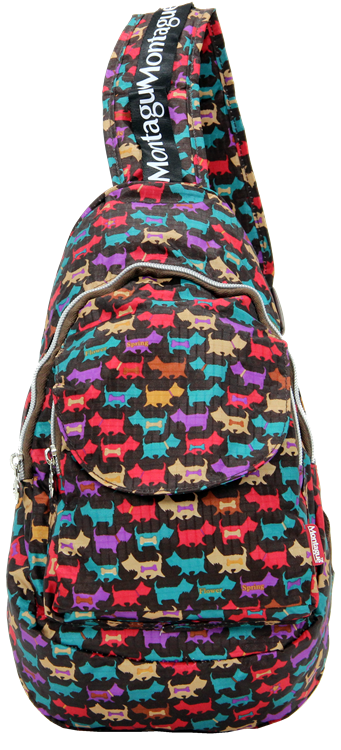 Montague Mbp-18, Foldable Cross Mini Backpack, Greyhound