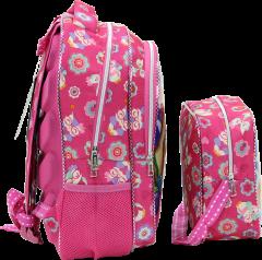 Sweety Jeb-bo, Nutrition Elementary School Bag, Embossed Print-1
