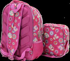 Sweety Jeb-bo, Nutrition Elementary School Bag, Embossed Print-2