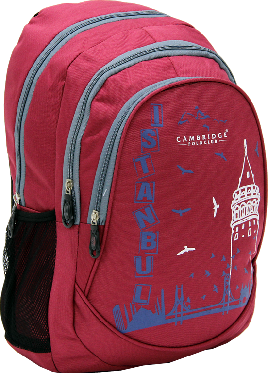 Cambridge Polo Club, Istanbul Backpack, Bordeaux
