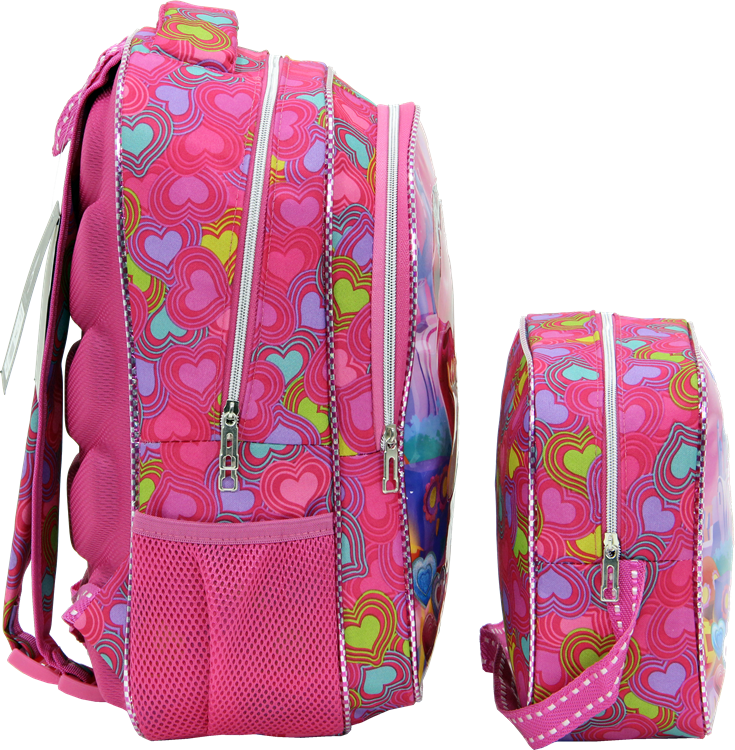 Deedsy, Nutritional Elementary School Bag, Embossed Printing