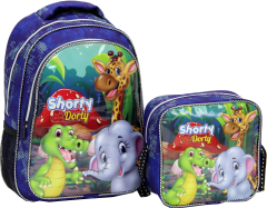 Shorty, Nutritional Elementary School Bag, Embossed Printing