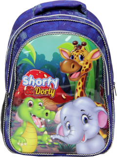 Shorty, Nutritional Elementary School Bag, Embossed Printing-3