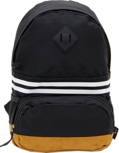 Cambridge Polo Club, Nubuck Base Unisex Mini Backpack, Black-0