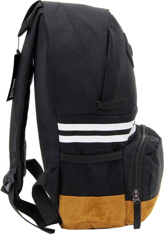 Cambridge Polo Club, Nubuck Base Unisex Mini Backpack, Black