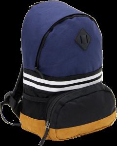 Cambridge Polo Club, Nubuck Base Unisex Mini Backpack, Navy Blue-1