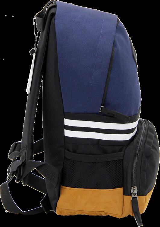 Cambridge Polo Club, Nubuck Base Unisex Mini Backpack, Navy Blue