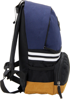 Cambridge Polo Club, Nubuck Base Unisex Mini Backpack, Navy Blue-2