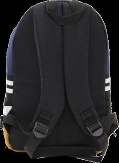 Cambridge Polo Club, Nubuck Base Unisex Mini Backpack, Navy Blue-3
