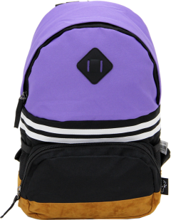 Cambridge Polo Club, Nubuck Base Unisex Mini Backpack, Purple