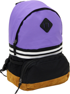 Cambridge Polo Club, Nubuck Base Unisex Mini Backpack, Purple-1