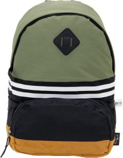 Cambridge Polo Club, Nubuck Base Unisex Mini Backpack, Khaki