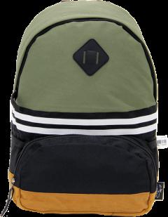 Cambridge Polo Club, Nubuck Base Unisex Mini Backpack, Khaki-0