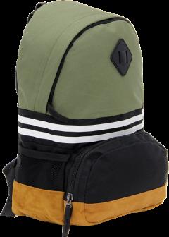 Cambridge Polo Club, Nubuck Base Unisex Mini Backpack, Khaki-1