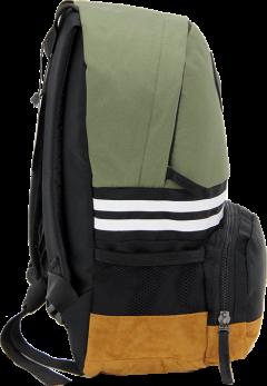 Cambridge Polo Club, Nubuck Base Unisex Mini Backpack, Khaki-2