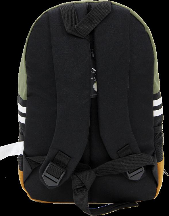 Cambridge Polo Club, Nubuck Base Unisex Mini Backpack, Khaki