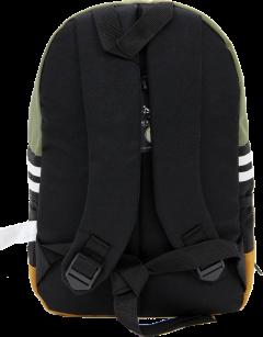 Cambridge Polo Club, Nubuck Base Unisex Mini Backpack, Khaki-3