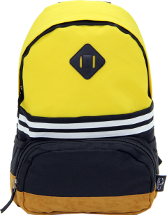 Cambridge Polo Club, Nubuck Base Unisex Mini Backpack, Yellow