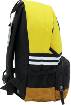 Cambridge Polo Club, Nubuck Base Unisex Mini Backpack, Yellow-2