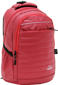 Cambridge Polo Club, Neon Backpack, Red-1