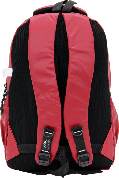 Cambridge Polo Club, Neon Backpack, Red