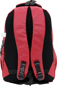 Cambridge Polo Club, Neon Backpack, Red-3