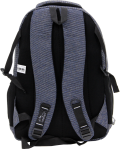 Cambridge Polo Club, Woven Fabric Backpack, Black-3