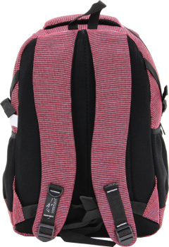 Cambridge Polo Club, Woven Fabric Backpack, Red-3