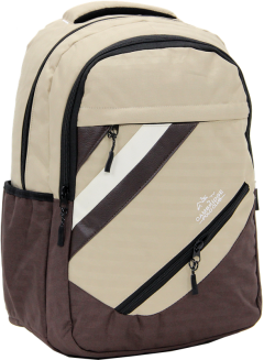 Cambridge Polo Club Plcan1726, School - Backpack, Cream-1