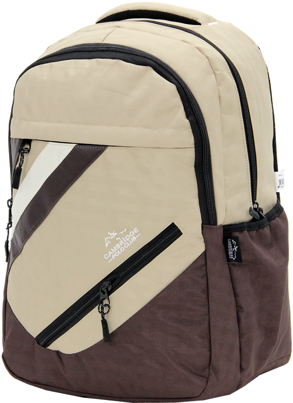 Cambridge Polo Club Plcan1726, School - Backpack, Cream