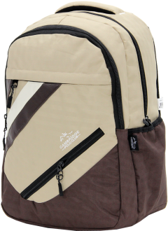 Cambridge Polo Club Plcan1726, School - Backpack, Cream-2