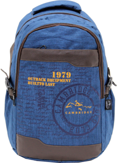 Cambridge Polo Club Plcan1663, 1979 Outback Backpack, Navy Blue-0