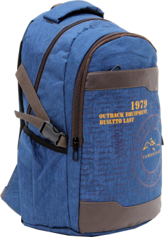 Cambridge Polo Club Plcan1663, 1979 Outback Backpack, Navy Blue-1