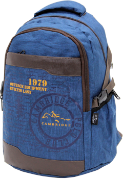Cambridge Polo Club Plcan1663, 1979 Outback Backpack, Navy Blue-2