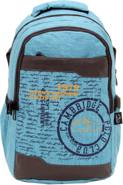 Cambridge Polo Club Plcan1663, 1979 Outback Backpack, Blue
