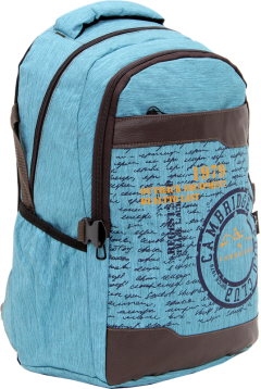 Cambridge Polo Club Plcan1663, 1979 Outback Backpack, Blue-1