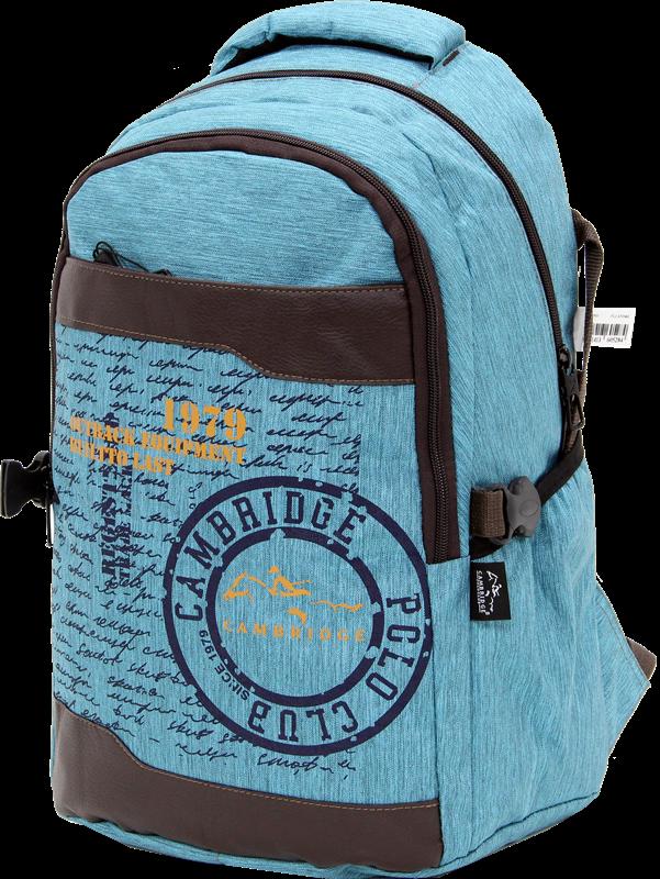 Cambridge Polo Club Plcan1663, 1979 Outback Backpack, Blue