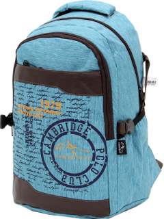 Cambridge Polo Club Plcan1663, 1979 Outback Backpack, Blue-2