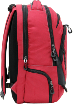 Cambridge Polo Club, Laptop Backpack, Red-2