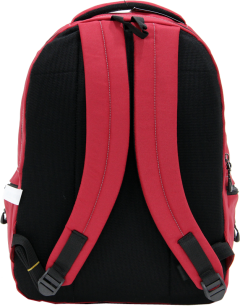 Cambridge Polo Club, Laptop Backpack, Red-3