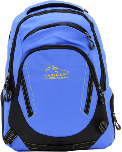 Cambridge Polo Club, Laptop Backpack, Blue-0