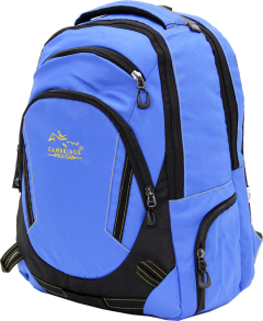 Cambridge Polo Club, Laptop Backpack, Blue-1