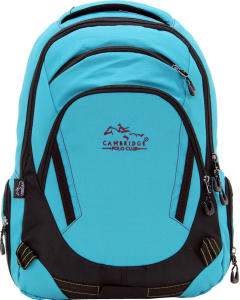 Cambridge Polo Club, Laptop Backpack, Turquoise