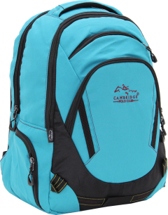 Cambridge Polo Club, Laptop Backpack, Turquoise-1