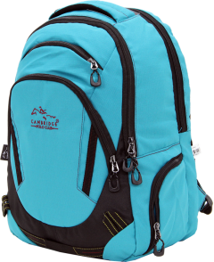 Cambridge Polo Club, Laptop Backpack, Turquoise-2