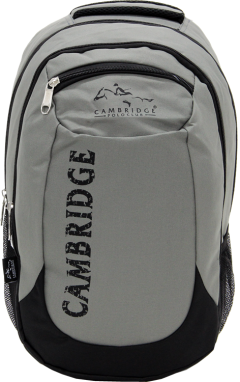 Cambridge Polo Club, School & Backpack, Gray-0